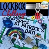 St. Patrick's Day Activity|Lockbox Challenge|Logic Puzzle|Enrichment