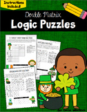 St. Patrick's Day Logic Puzzles -  Double Matrix