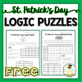 St. Patrick's Day Logic Puzzles Free