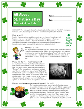 St. Patrick's Day // Luck