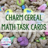 St. Patrick's Day Charm Cereal Fraction Operations Task Cards