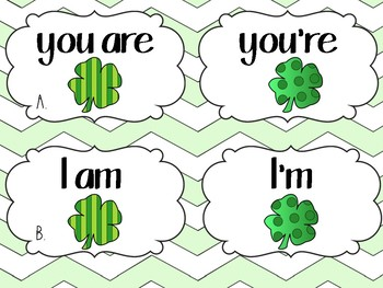 St. Patrick's Day Lucky Contractions