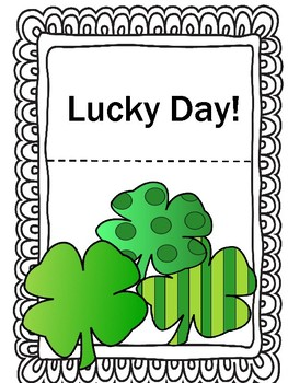Free St. Patrick's Day Lucky Day Activities!