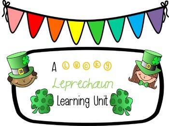 St. Patrick's Day Lucky Leprechaun Learning Unit
