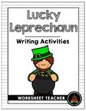 St. Patrick's Day Lucky Leprechaun Writing Activities