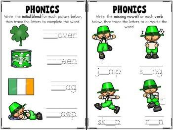 St Patricks Day Literacy Activity Pack