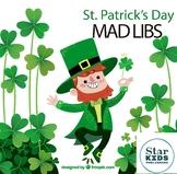 St Patrick's Day Mad Lib Collection * Google Slides, Inter