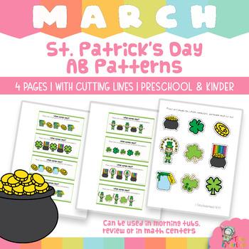 St Patrick's Day: Make A Pattern Mats - AB-AB Pattern Mats {TeKa Kinderland)