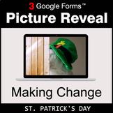 St. Patrick's Day: Making Change - Google Forms Math Game