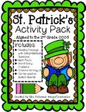 St. Patrick's Day Activity Pack No Prep ~ Aligned with the
