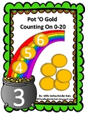 St. Patrick's Day (March) Counting On Math Activity