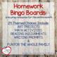 St. Patrick's Day, March Homework Bingo Board: Leprechaun Edition