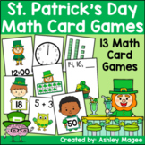 St. Patrick's Day March Math Card Games: 13 Games for Addi