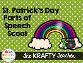 St. Patrick's Day Parts of Speech Scoot Activity March Fir