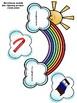 Rainbow Rhyming Words