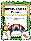 Rainbow Rhyming Words