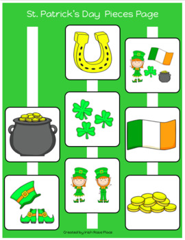 St. Patrick's Day Match Book (Adapted Book)