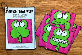 St. Patrick's Day Match and Flip Books