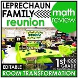 1st Grade Room Transformation   St. Patrick's Day Math