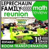 1st Grade Classroom Transformation | St. Patrick's Day Math