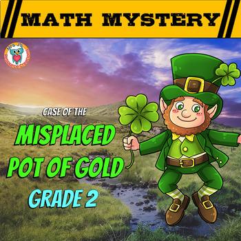 St Patrick's Day Math Mystery (2nd Grade)