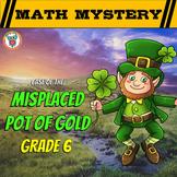 6th Grade St. Patrick's Day Math Activity -  St. Patrick's Day Math Mystery