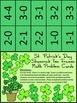 St. Patrick's Day Math Activities: Shamrock Ten Frames