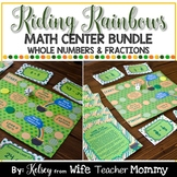 St. Patrick's Day Math Bundle- Fractions and Whole Number Operations