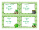 3rd Grade St. Patrick's Day Math Multiplication I Have Who Has Game