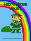 St. Patrick's Day - Leprechaun Math