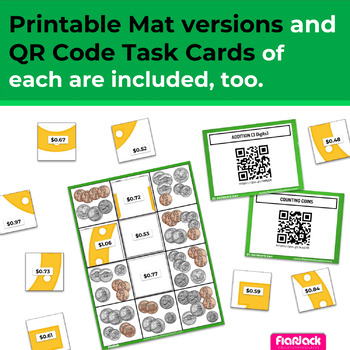 St. Patrick's Day Math | 2nd-3rd | Paperless/Printable Secret Picture Tiles SET