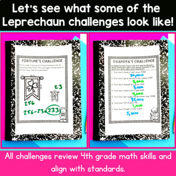 St. Patrick's Day Math | 4th Grade Classroom Transformation