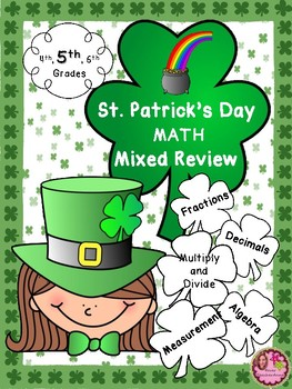 St. Patrick's Day Math - 5th Grade