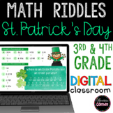 St. Patrick's Day Math Activities: Paperless
