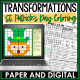 St. Patrick's Day Math Activity Transformations Review