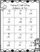 St. Patrick's Day Math: Add/Subtract Tens {{FREEBIE}}