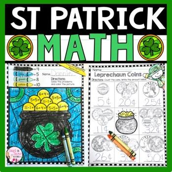St Patrick's Day Math Activities