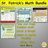 St Patrick's Day Mixed Math BUNDLE