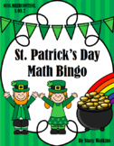 St. Patrick's Day Math Bingo (3rd, 4th, 5th Math Fluency)