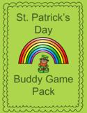 St. Patrick's Day Math Buddy Games