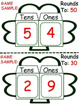 St. Patrick's Day Math Card Games