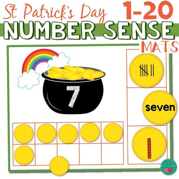 St Patrick's Day Math Center