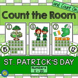 St. Patrick's Day Math Center: Count the Room 11 - 20