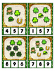 St. Patrick's Day Math Center Counting Objects to 20 Clip