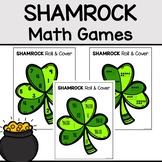 St. Patrick's Day Math Center, Shamrock Math Game