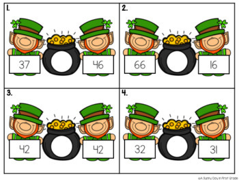 St. Patrick's Day Math Centers!