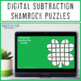 St. Patrick's Day Activities | Subtraction St. Patrick's Day Math Center Clovers