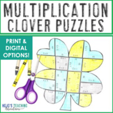MULTIPLICATION St. Patrick's Day Activities, Math Centers, Games, and Decor