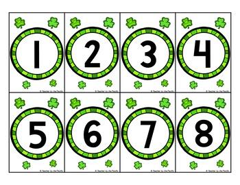 St. Patrick's Day Math Centers {BUNDLE}