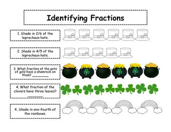 St. Patrick's Day Math Centers Bundle